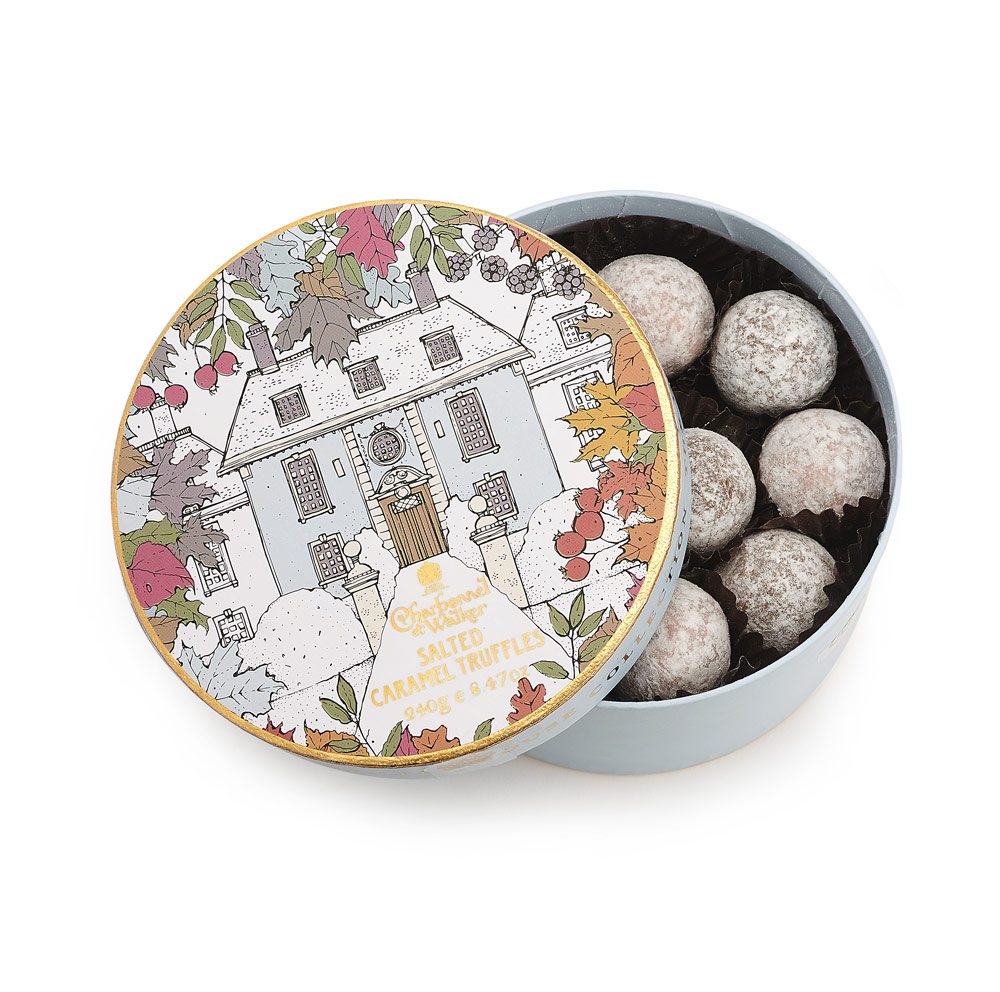 Charbonnel et Walker - Winter House Salted Caramel Truffle Selection -