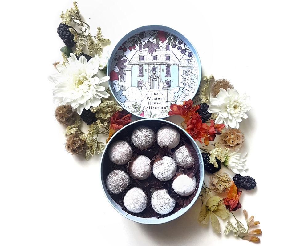 Charbonnel et Walker - Winter House Salted Caramel Truffle Selection -