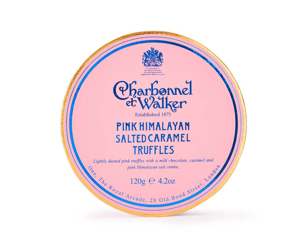 Charbonnel et Walker - Pink Himalayan Sea salt Caramel truffles -