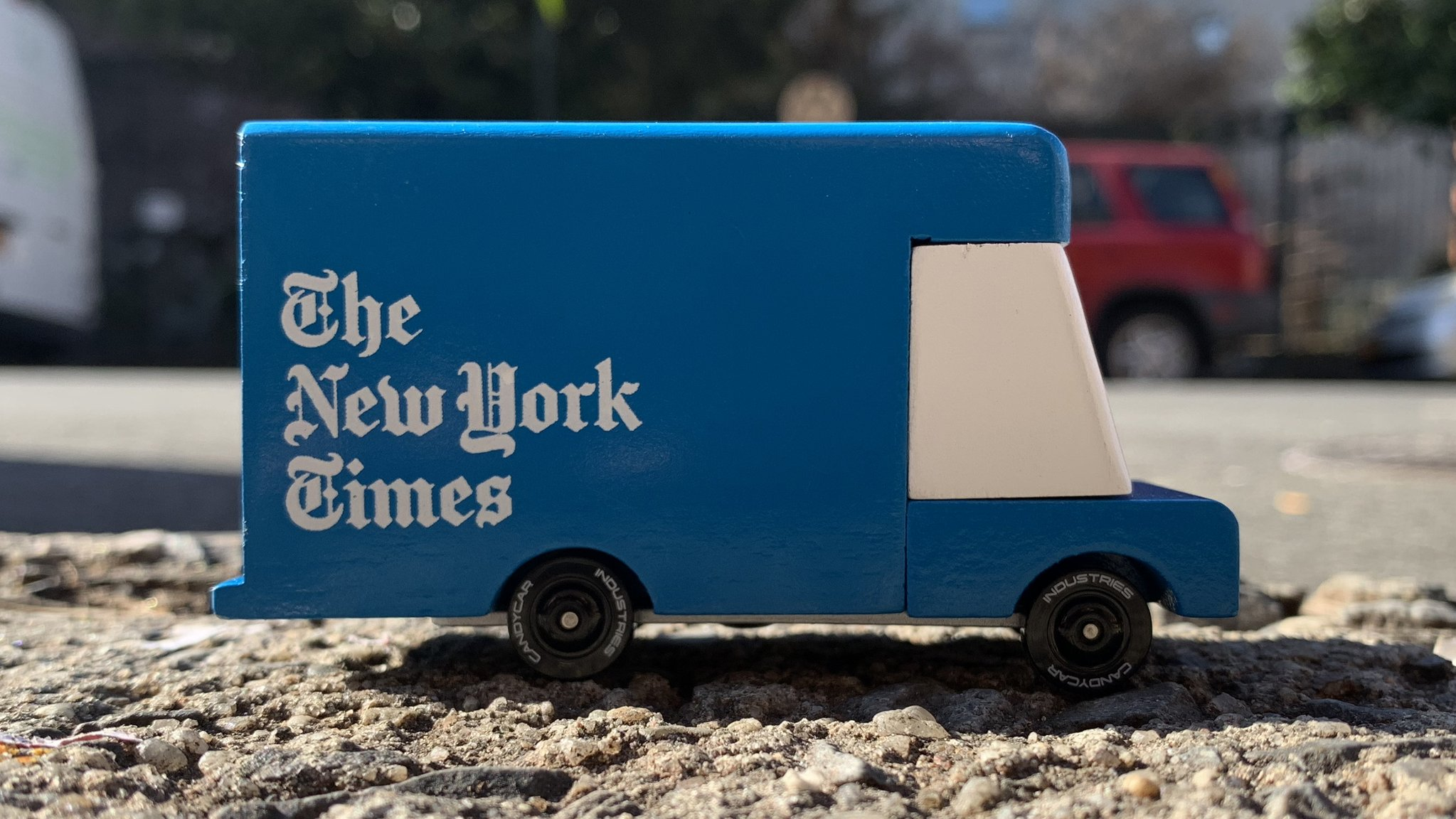 CANDYLAB Candy van - New York Times van -