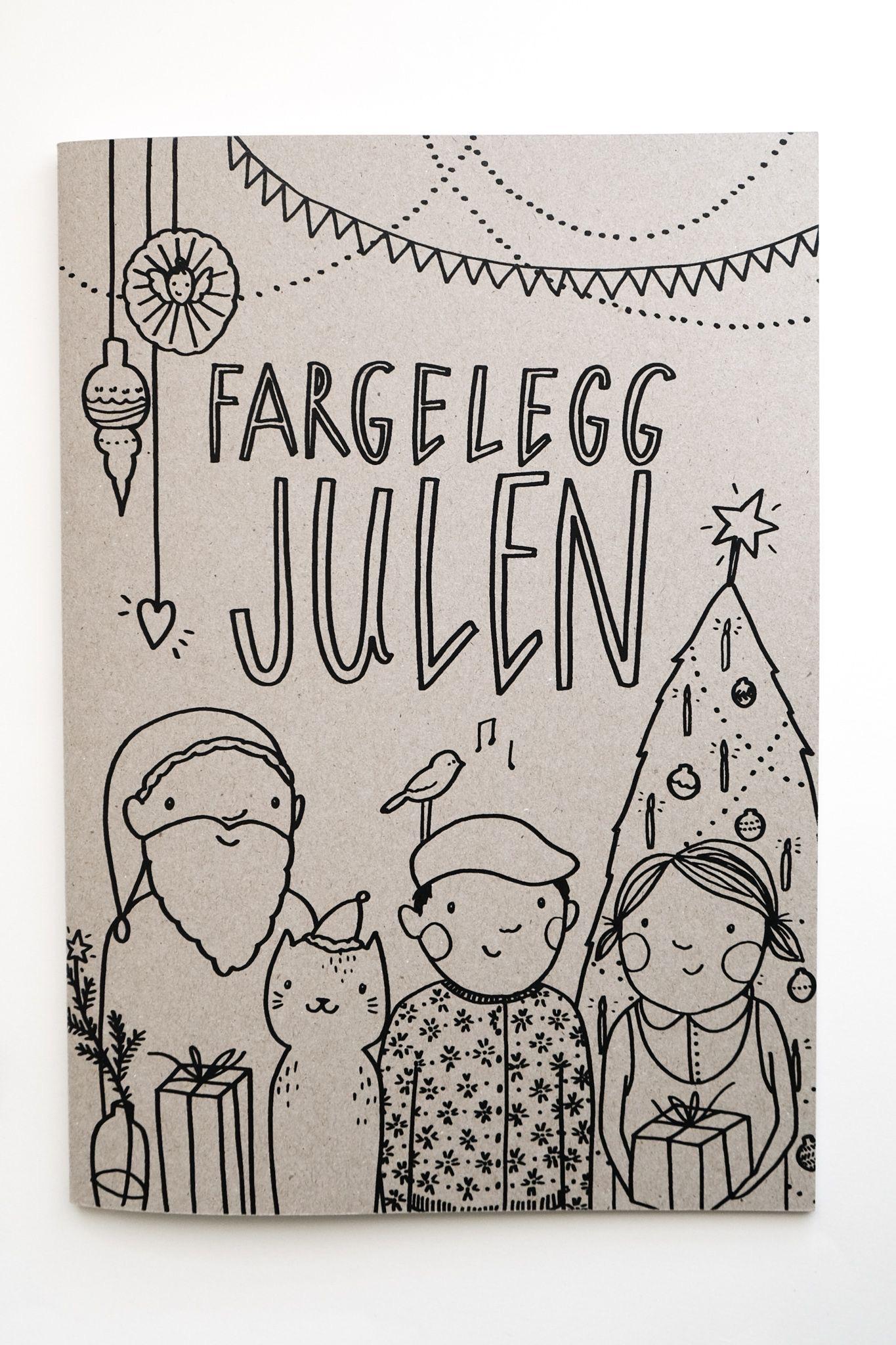 FARGELEGG JULEN Kristine Dalen Risan