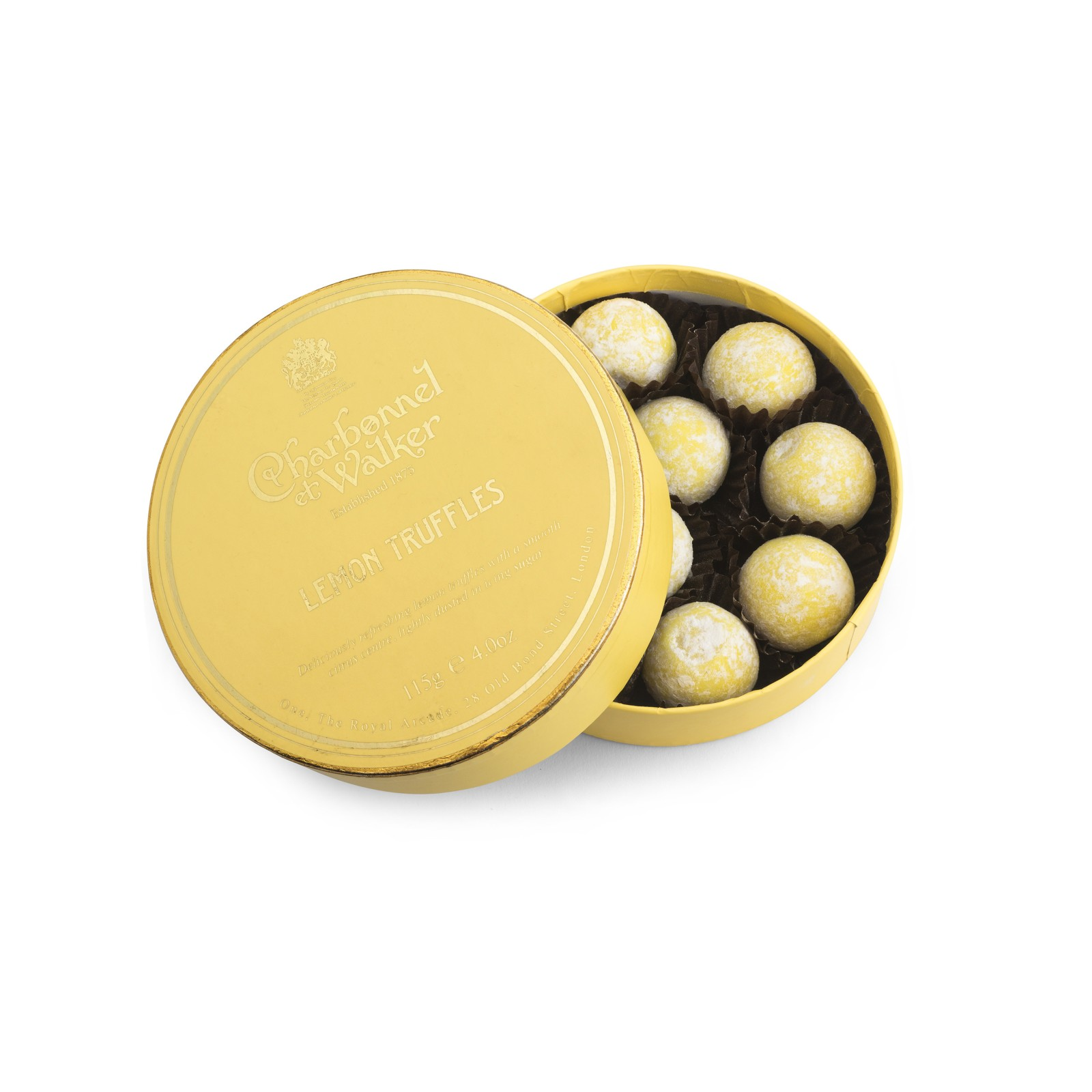 Charbonnel et Walker - Lemon truffles -