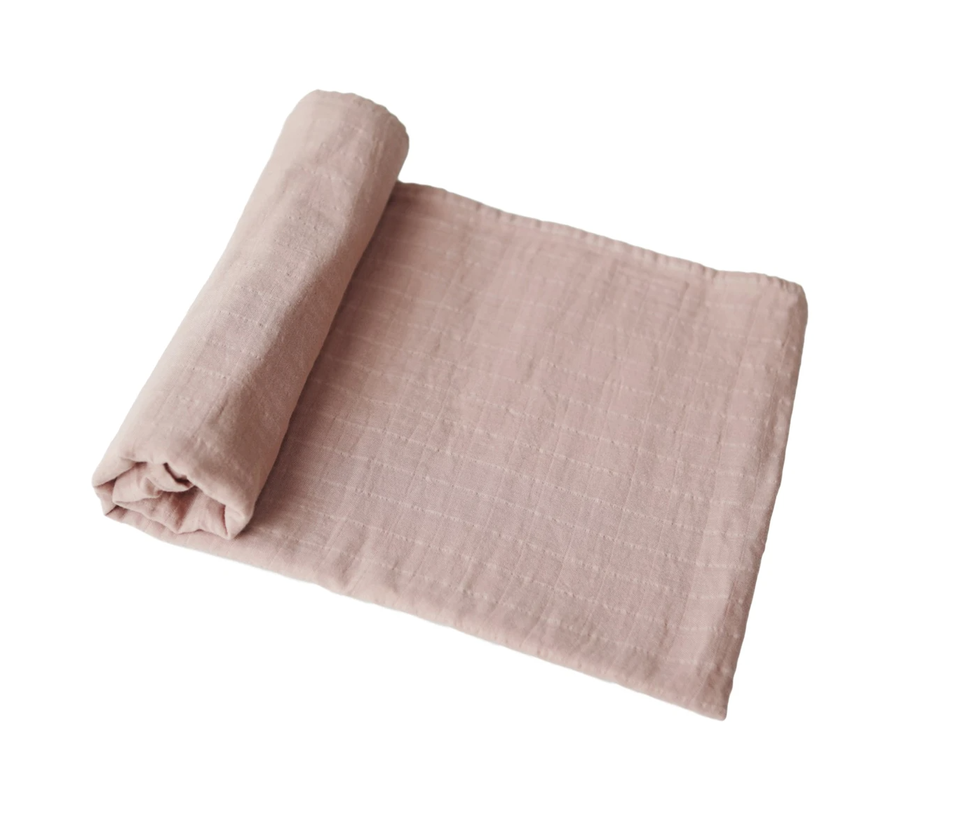 MUSHIE MUslin swaddle - Blush -