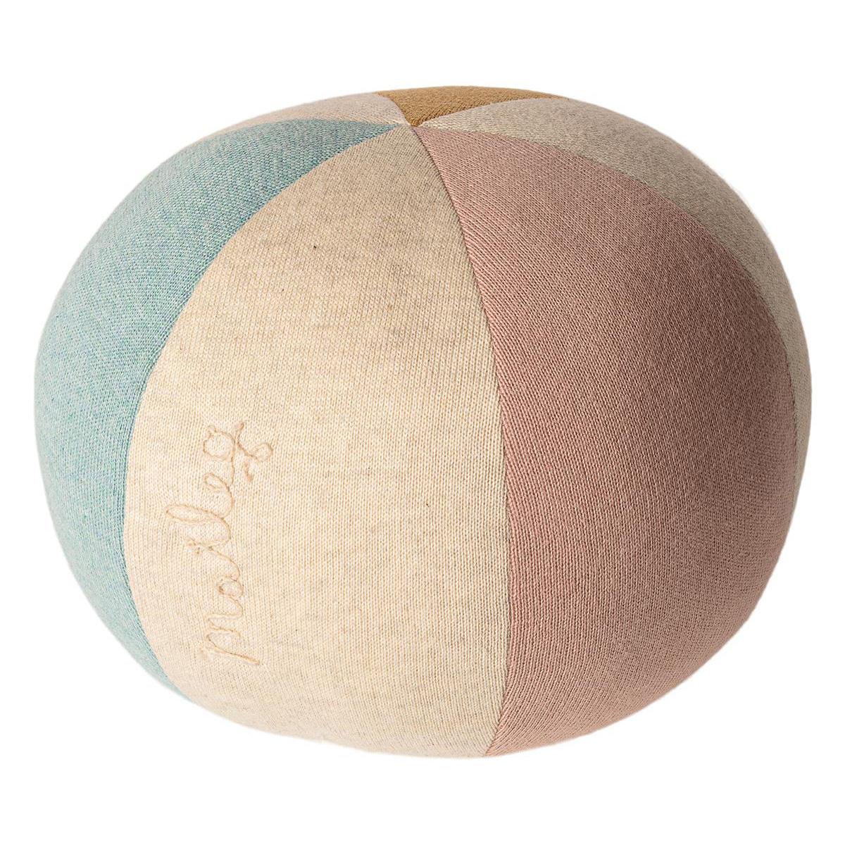 Maileg ball - Light blue/rose -