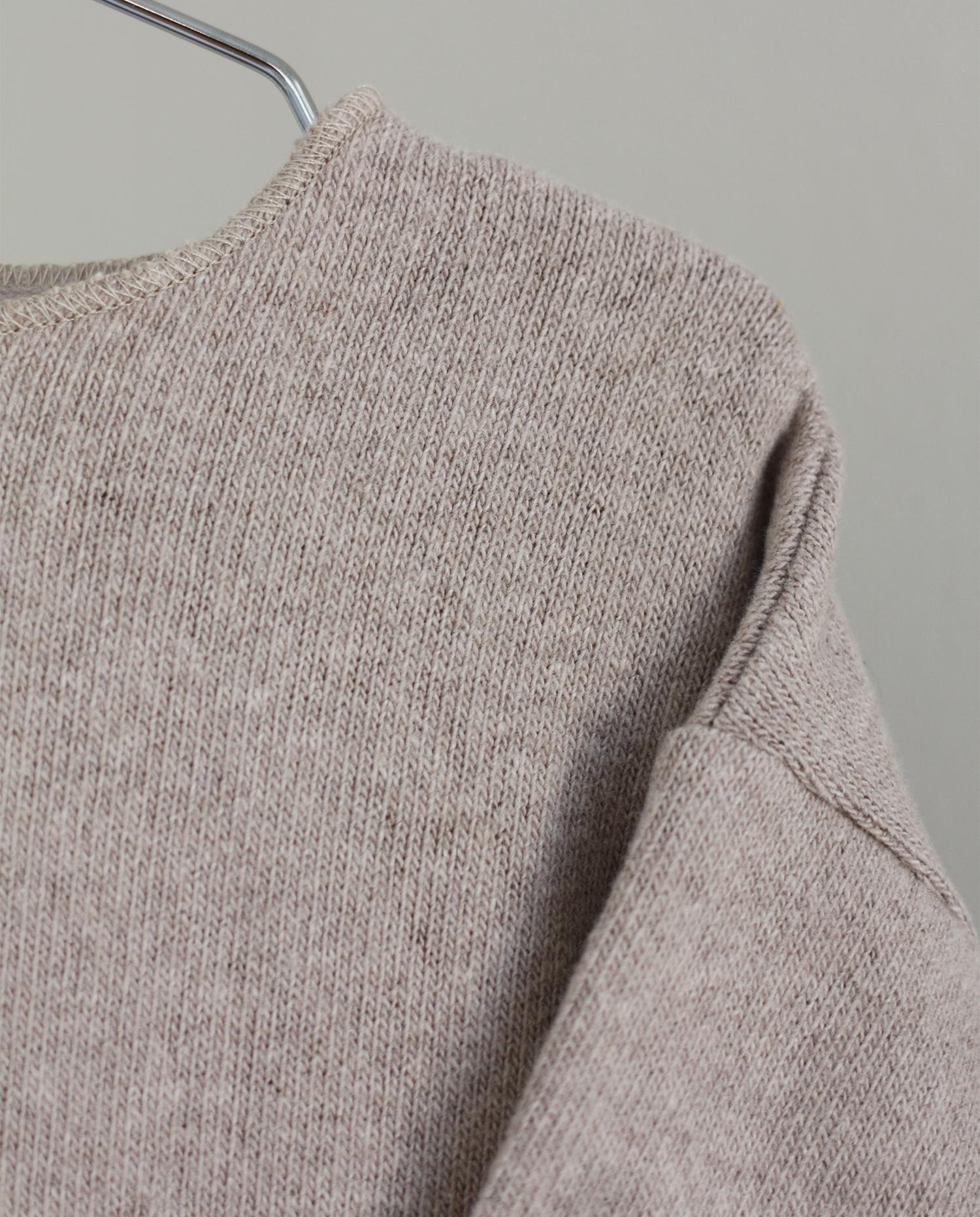 CO LABEL Warm cotton Billie blouse - Oat -