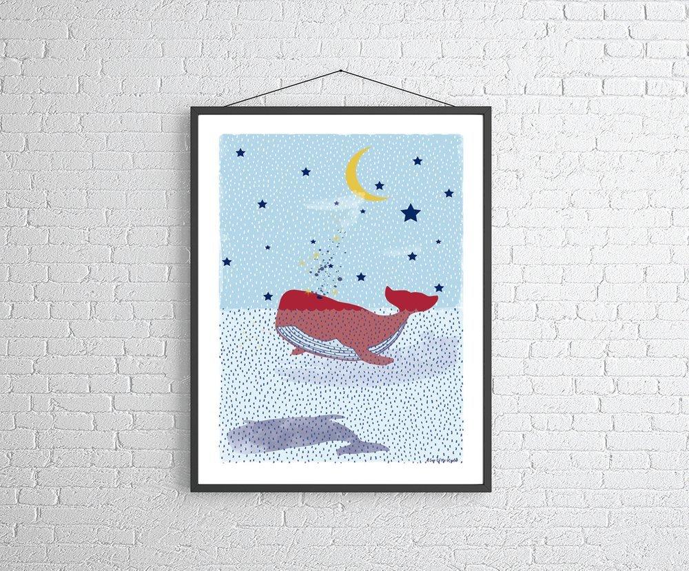 A cup of me studio print