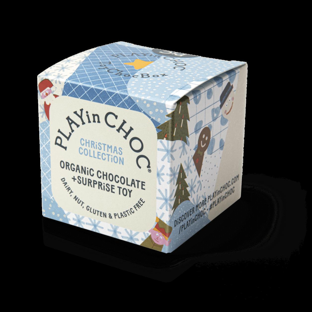 PLAY IN CHOC Sjokolade + leke - Christmas collection -