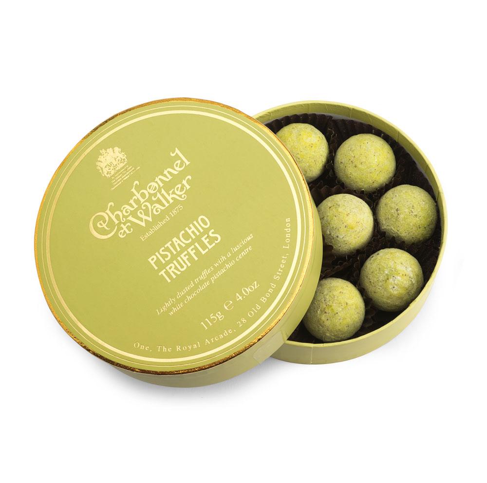Charbonnel et Walker - Pistachio truffles -