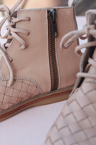 SCANDIC GYPSY Woven boot - Nudie -