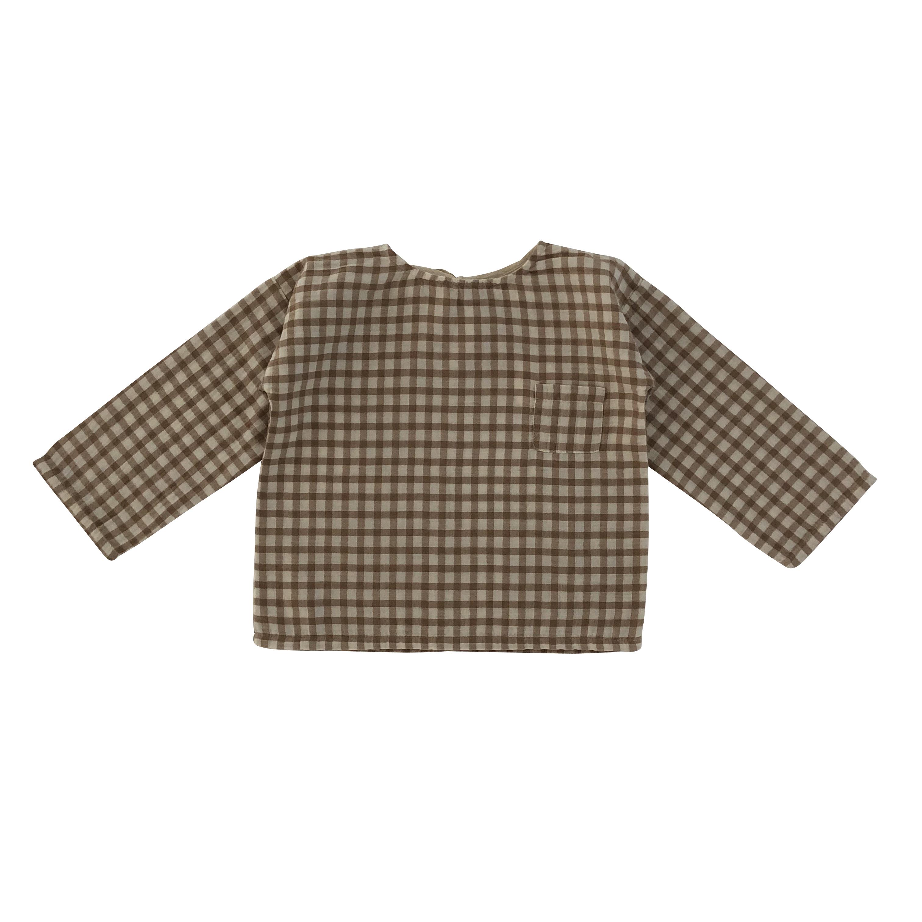 Liilu oversized shirt Check