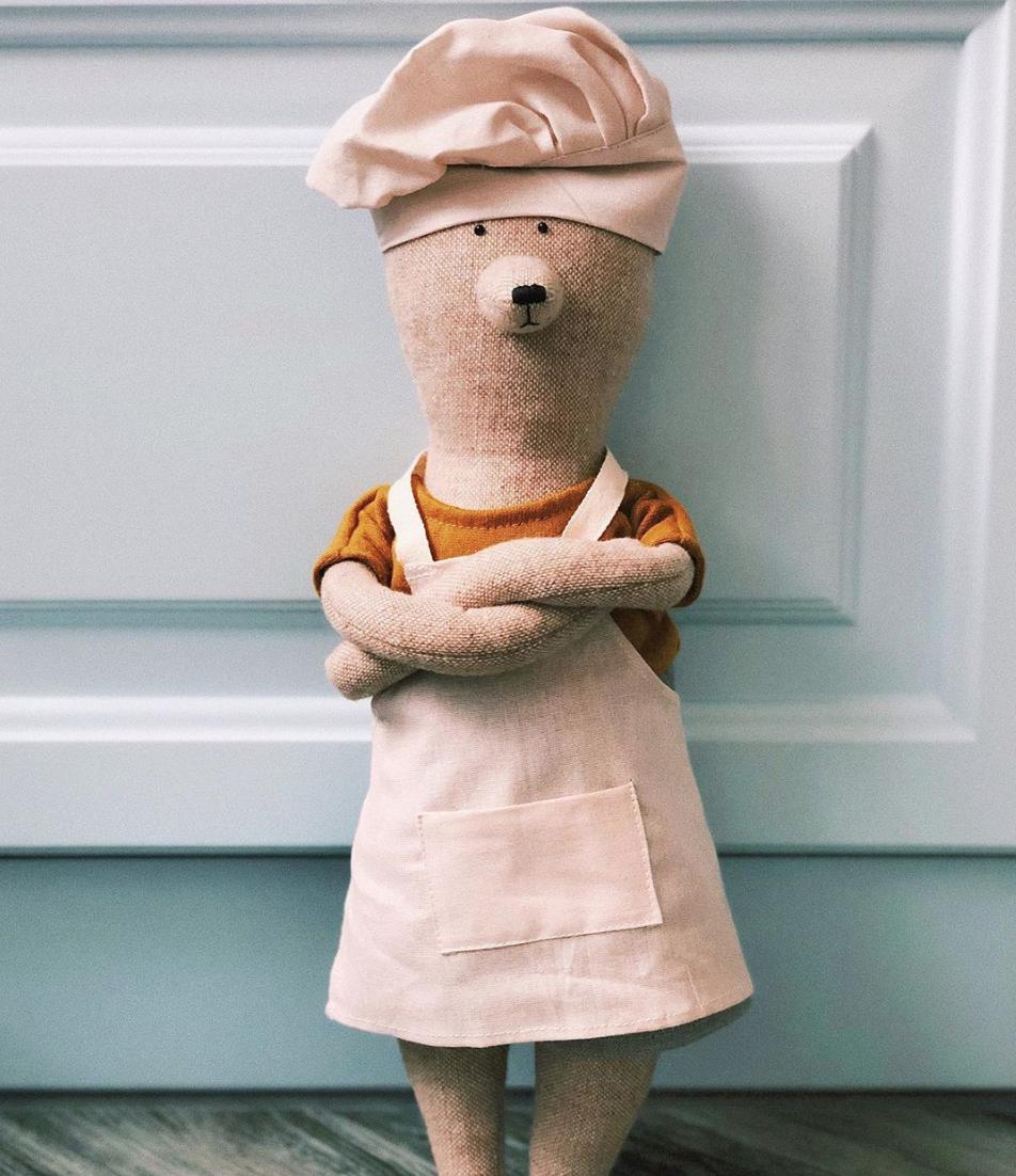 Kokke-uniform (Philomena Kloss bamse)