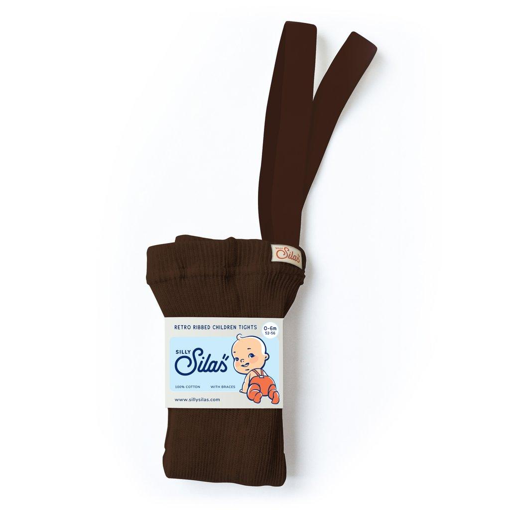 SILLY SILAS Strømpebukse - Chocolate brown -