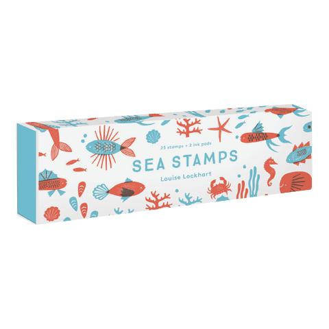PAPress Stempelsett - Sea stamps -