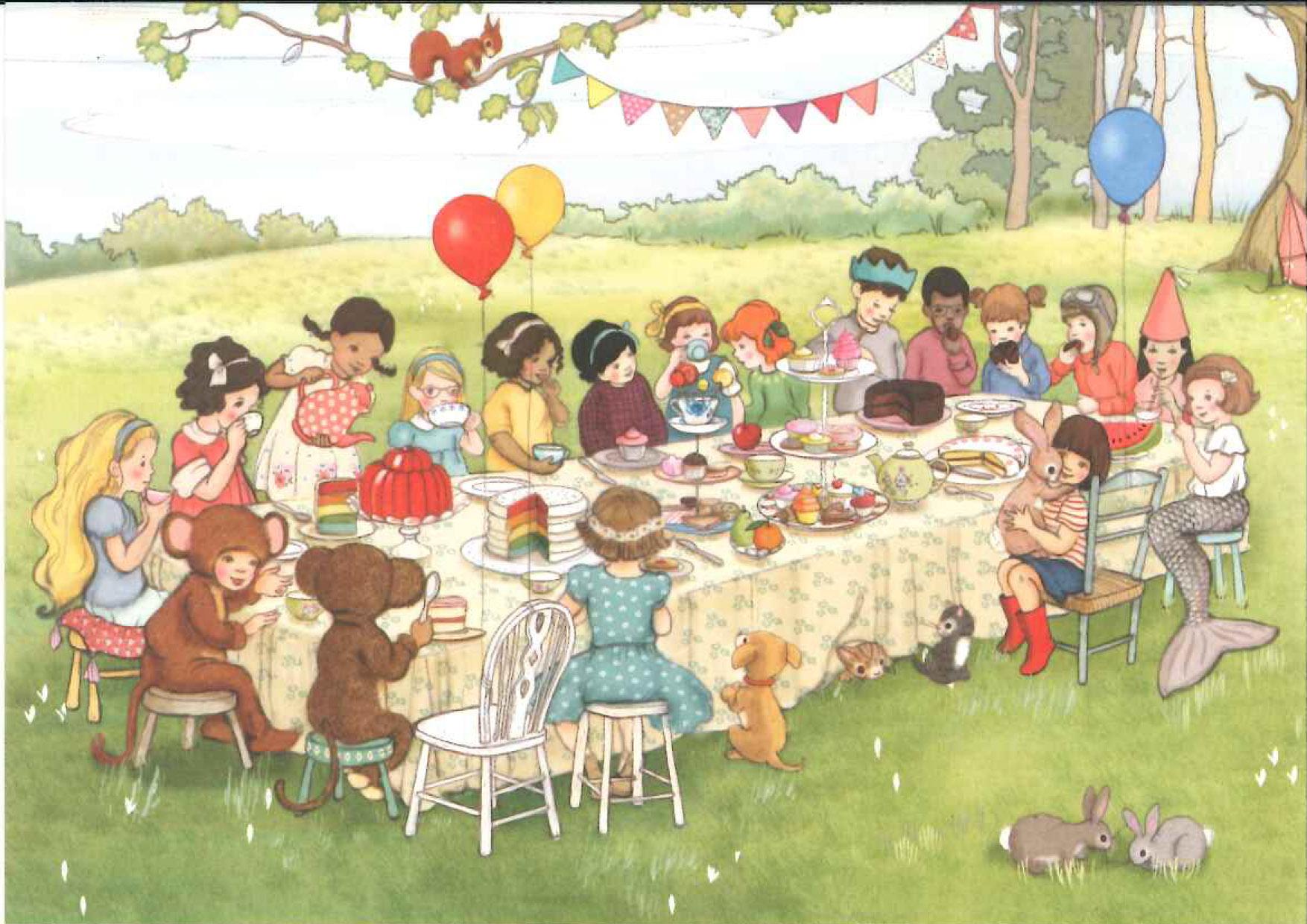 Belle & Boo postkort Bursdag