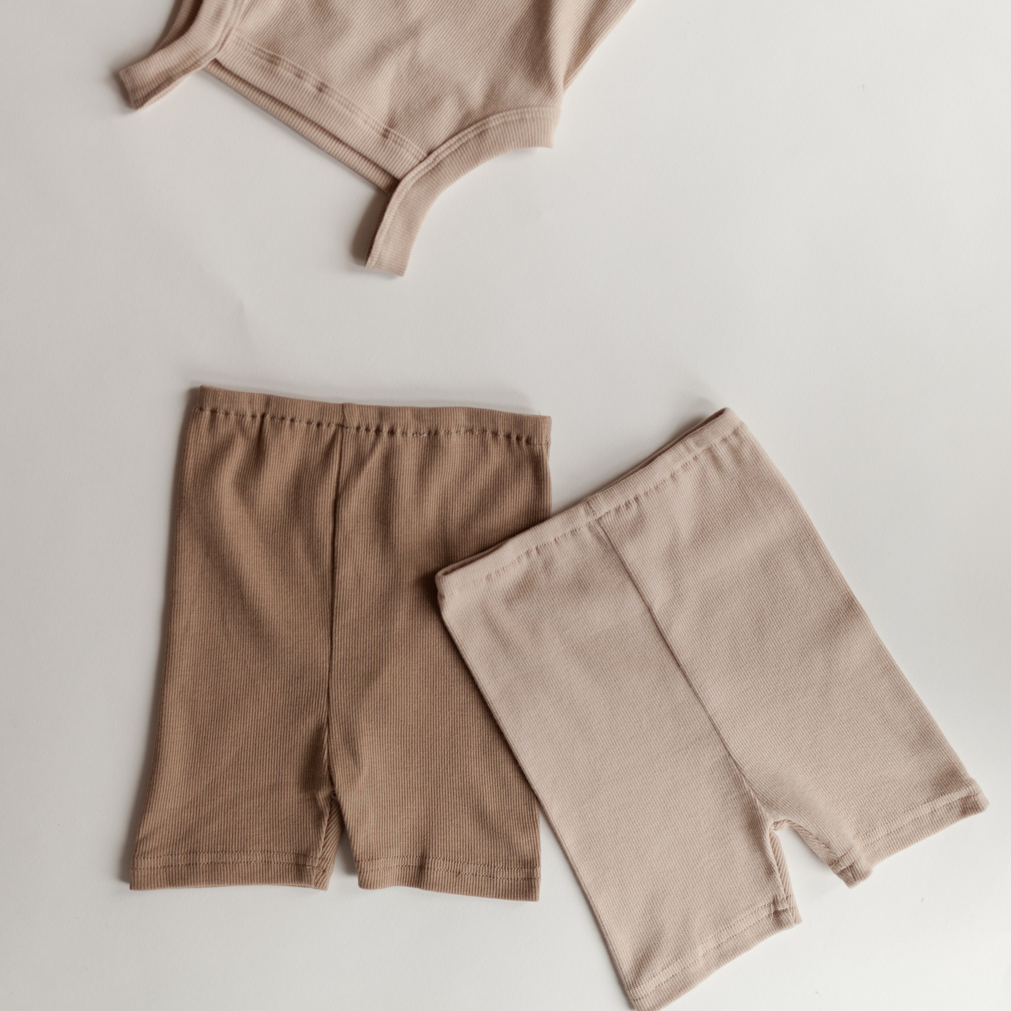 FIELDDAY Bikeshorts - Cappucino & Putty