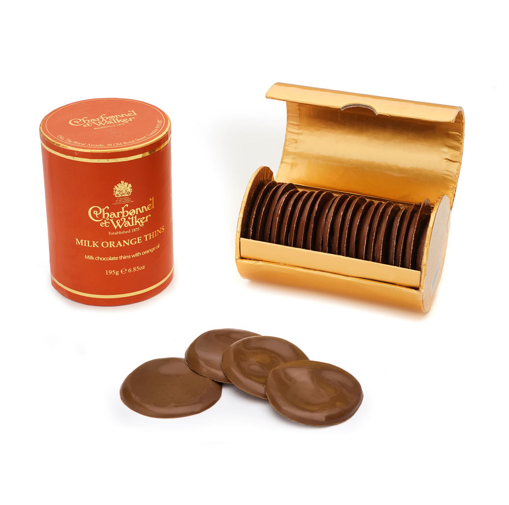 Charbonnel et Walker - Orange thins -