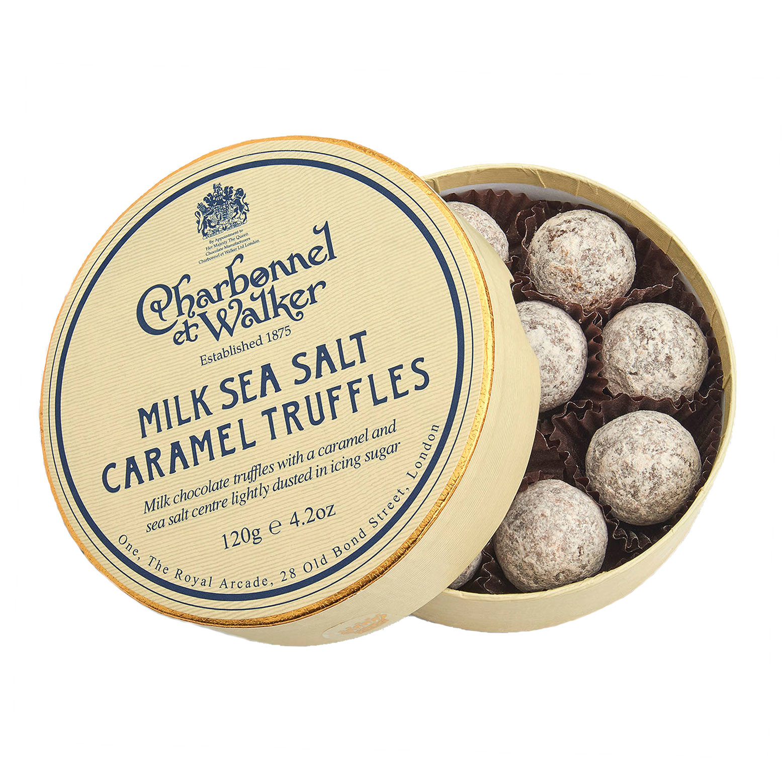 Charbonnel et Walker - Milk sea salt caramel truffles -