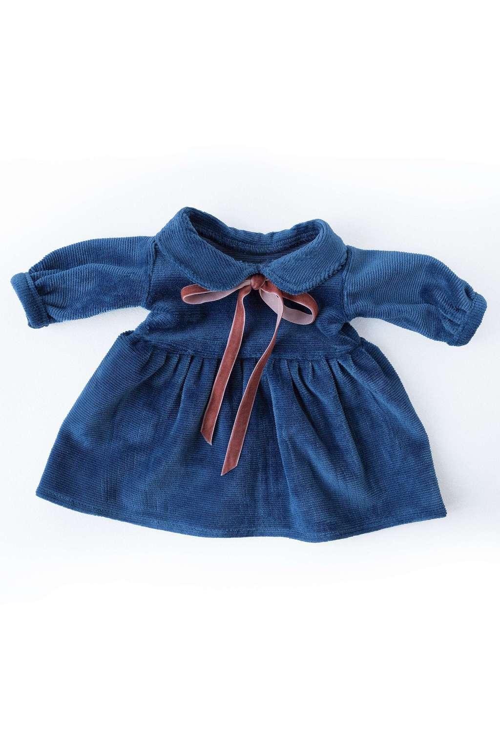 Philomena Kloss kjole - Retro blå -
