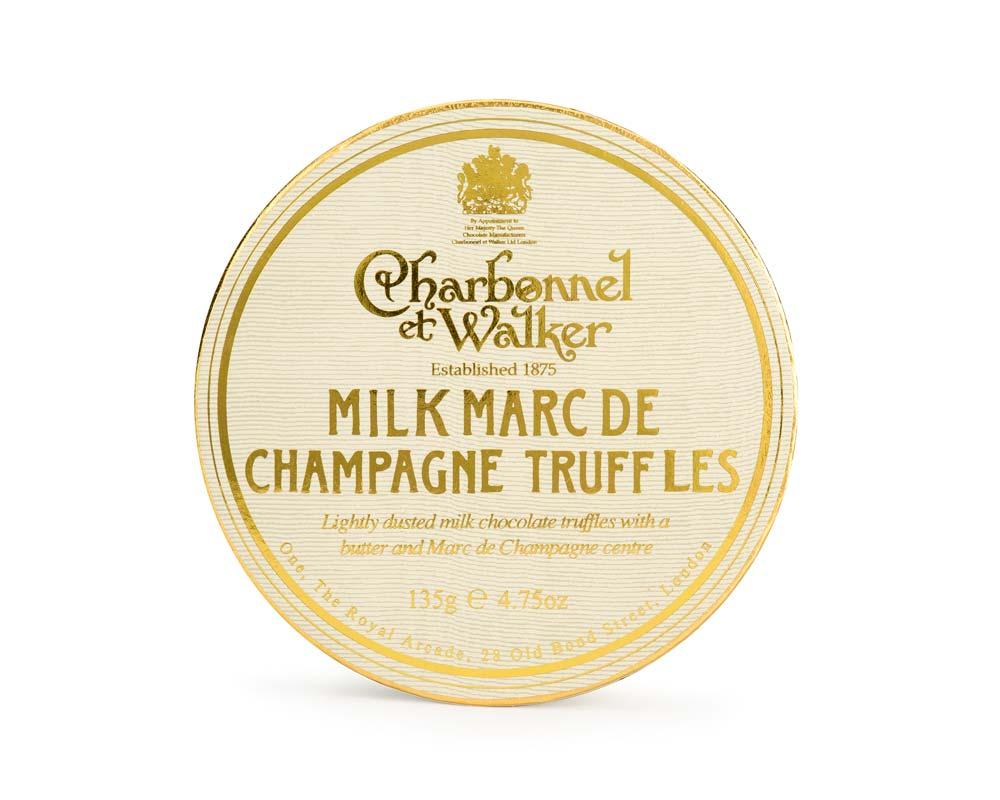 Charbonnel et Walker - Milc Marc de Champagne truffles -