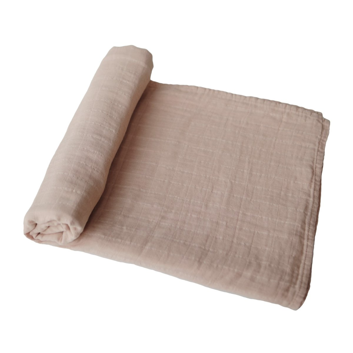MUSHIE Muslin swaddle - Pale taupe -