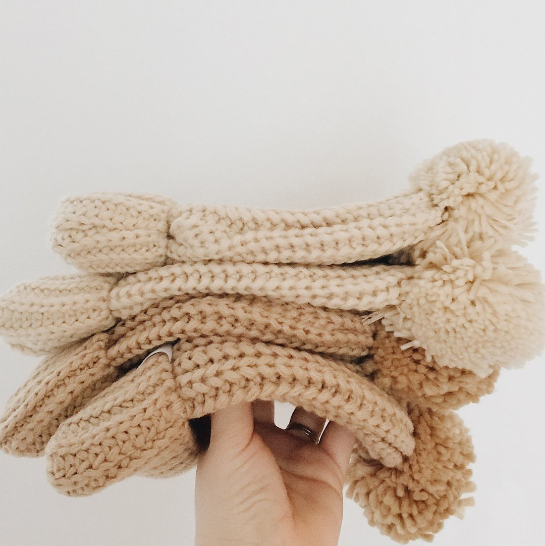 Lion + Lamb Knit beanie (4 farger)