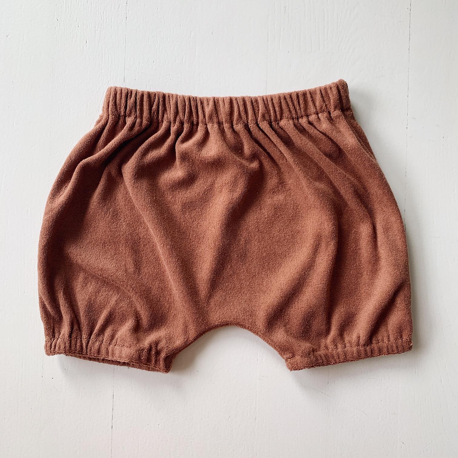 THITUTT Shorts - Sjokolade -