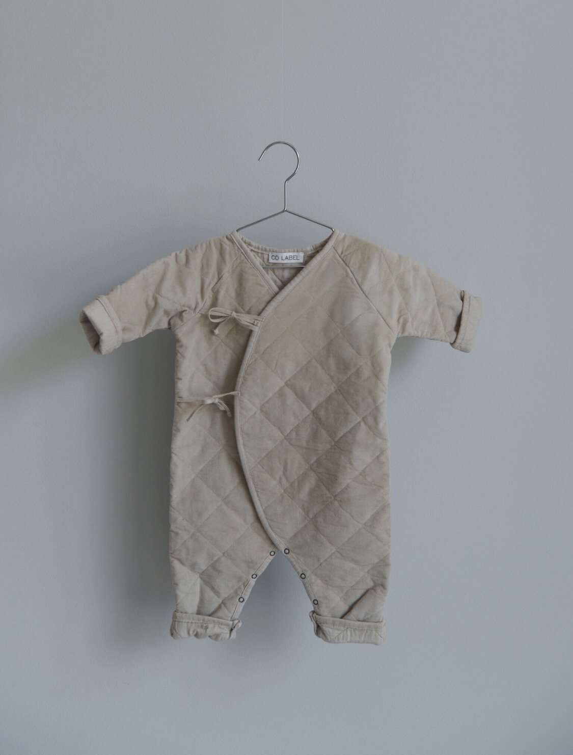 CO LABEL Eddie babysuit - sand -