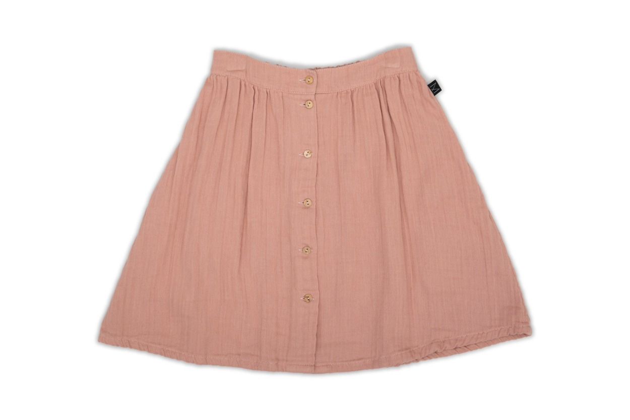 MONKIND Rose button skirt