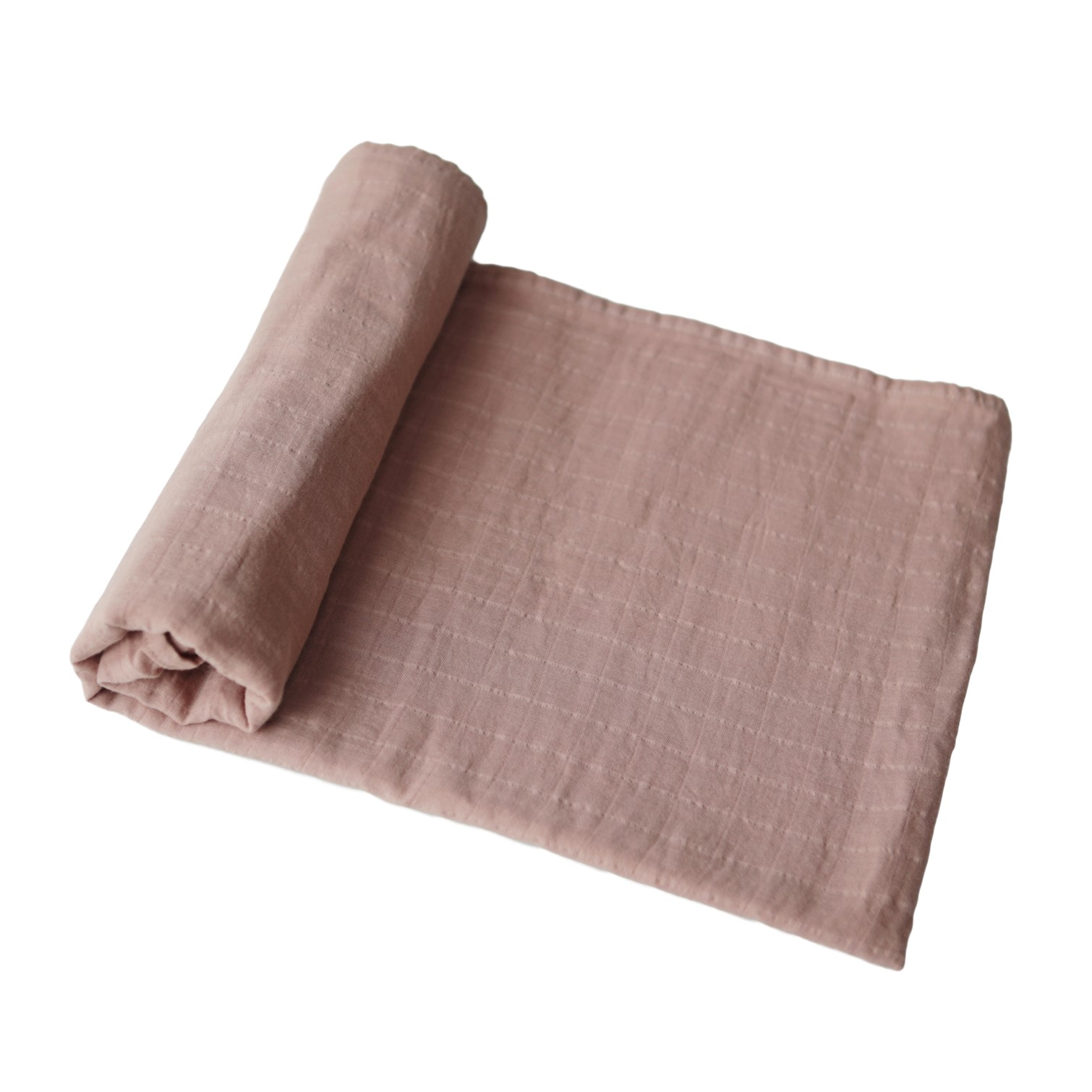 MUSHIE Muslin swaddle teppe - Natural -