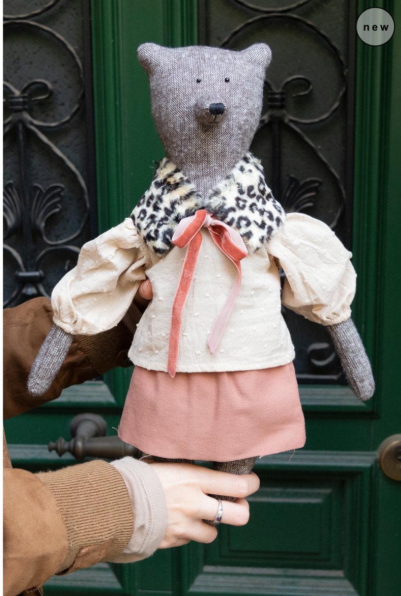 Philomena Kloss - Nicole the bear - Forhåndsbestilling