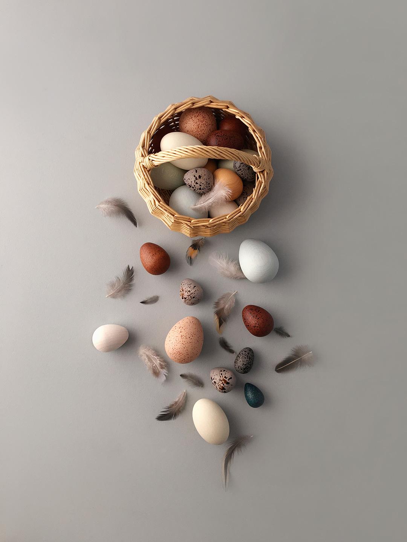 Moon Picnic Kurv med egg