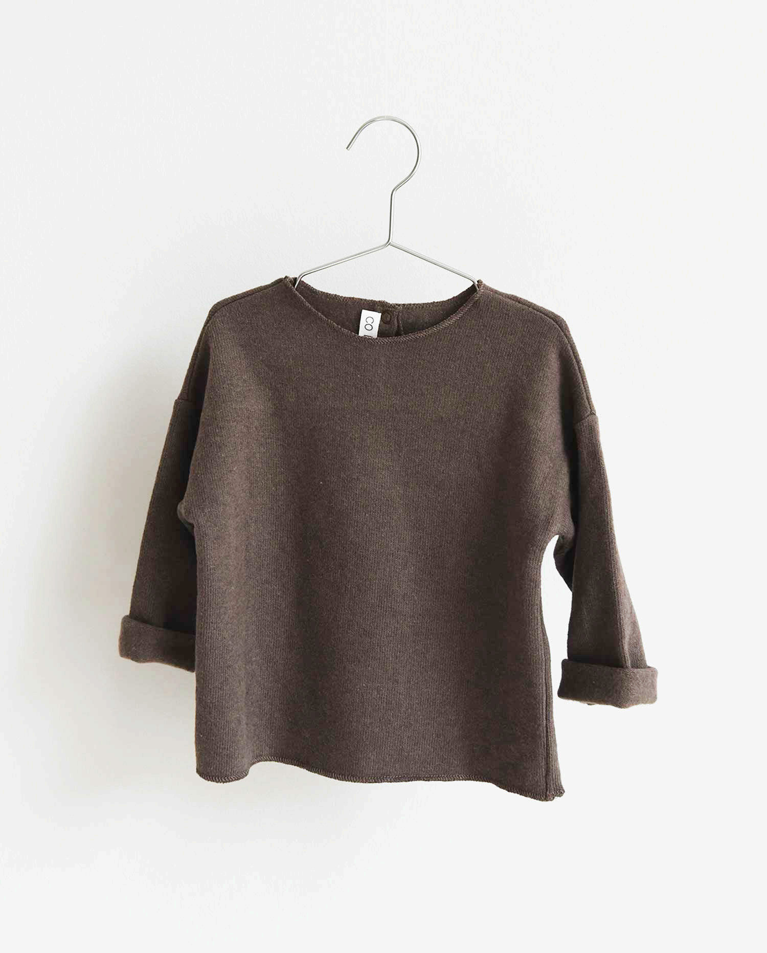 CO LABEL Warm cotton Billie blouse - Mellow brown -