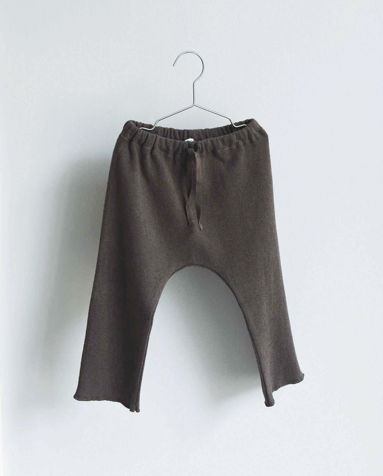 CO LABEL Warm cotton pants - Mellow brown -