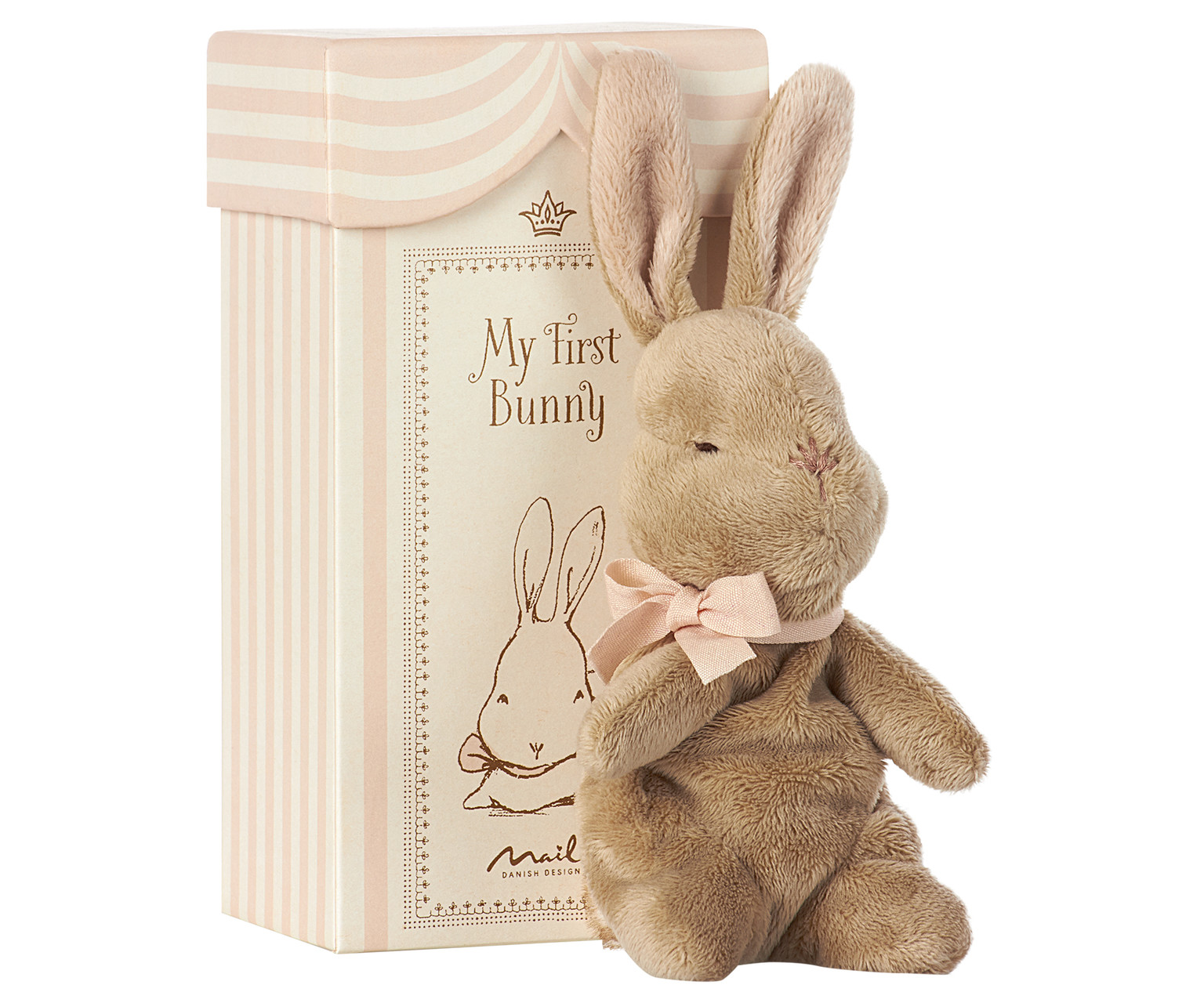 Maileg My first bunny in box Rose