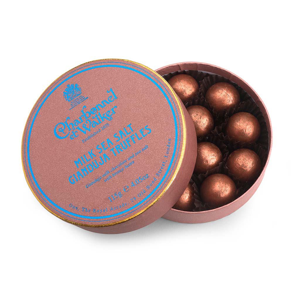 Charbonnel et Walker - Milk Seas salt Ginaduja truffles (Kommer snart inn igjen)-