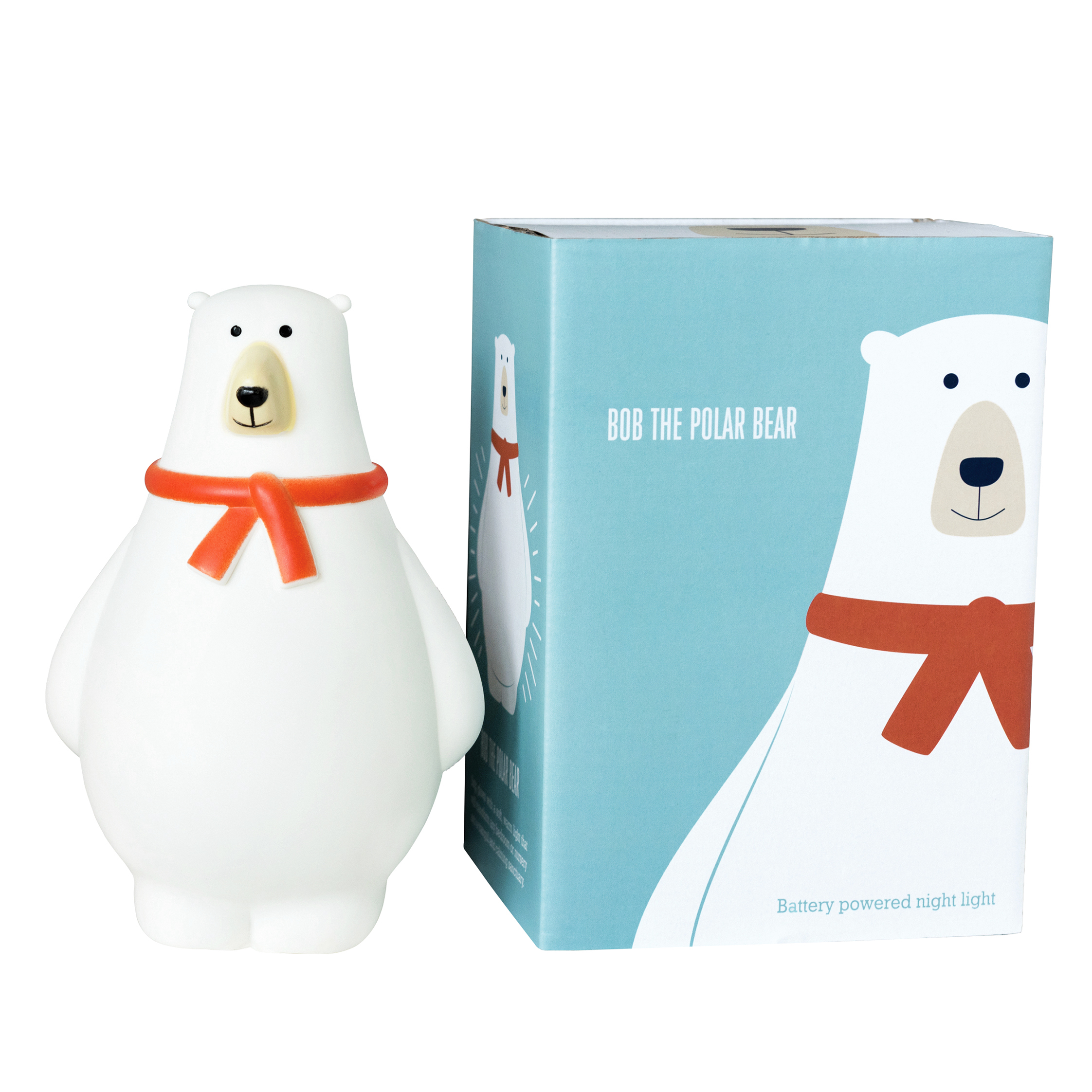 REX LONDON Bob the polar bear nattlampe