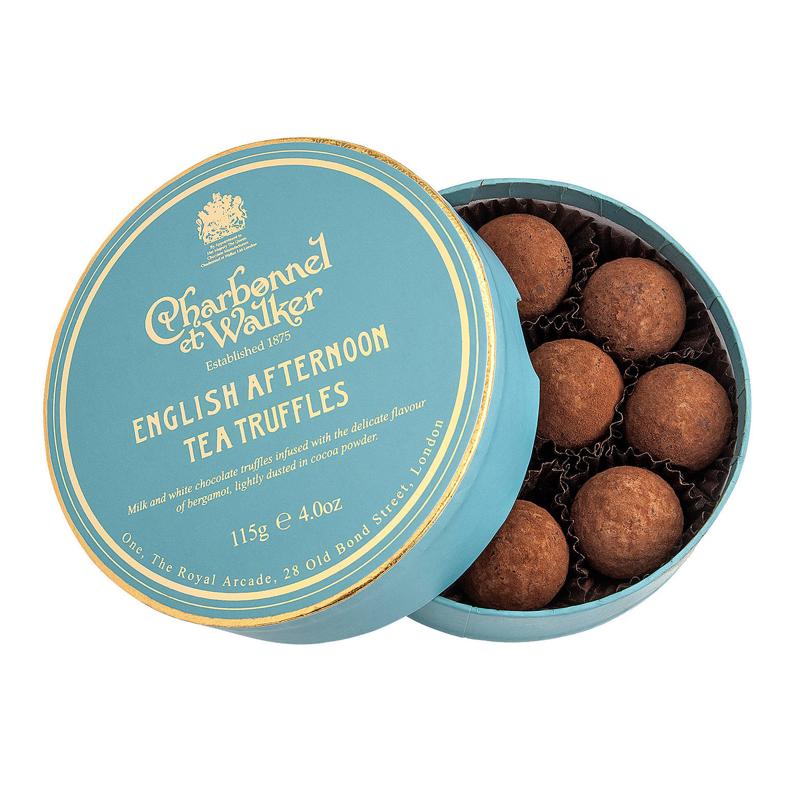 Charbonnel et Walker - English afternoon tea truffles -