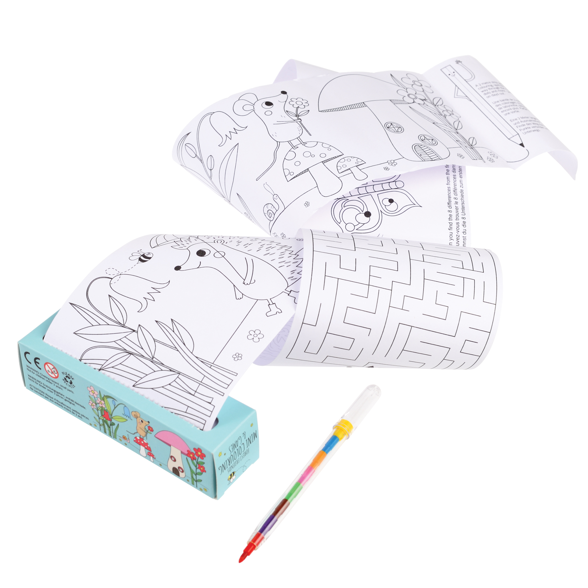 REX LONDON Mini colouring & games