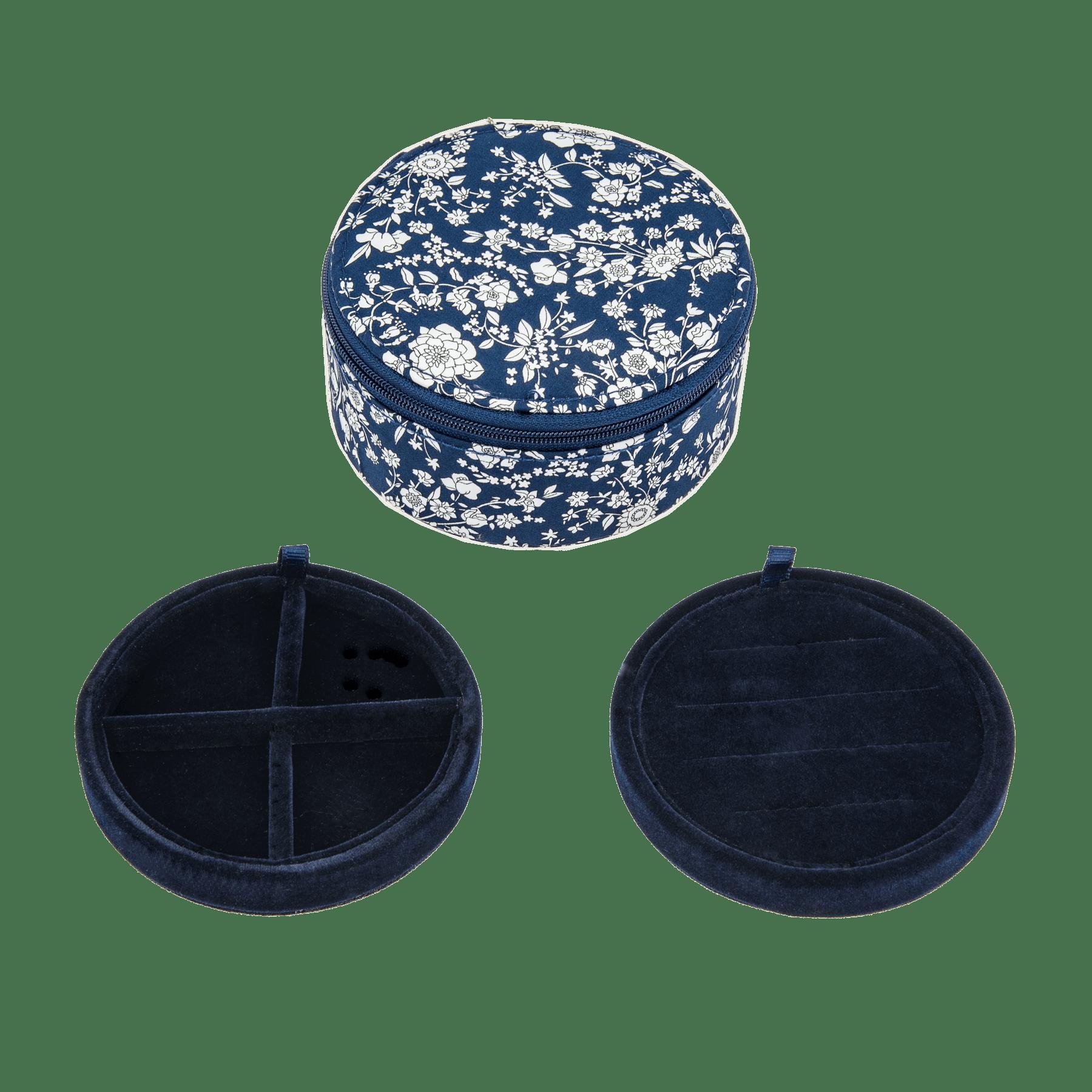 BON DEP Liberty smykkeskrin - Capel navy -