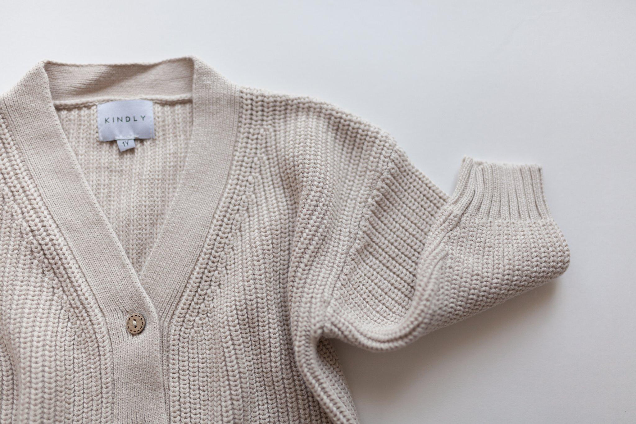 KINDLY (Tidligere Fieldday) Chunky knit cardigan