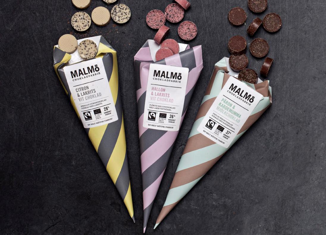 Malmø Chokladfabrik Kremmerhus - 5 smaker -