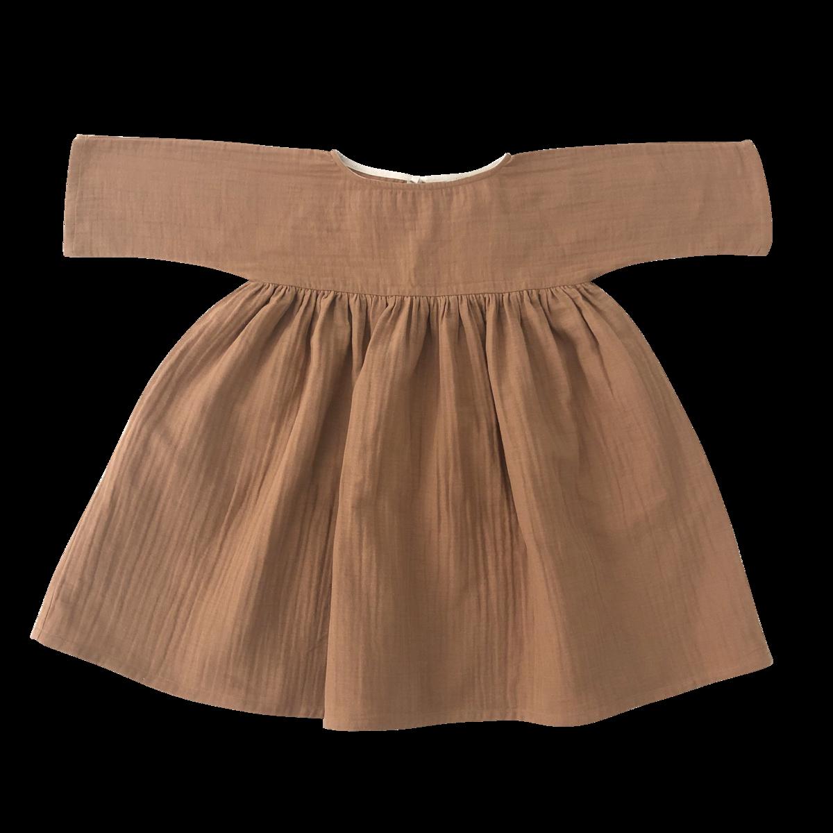 Liilu kjole - Terracotta -
