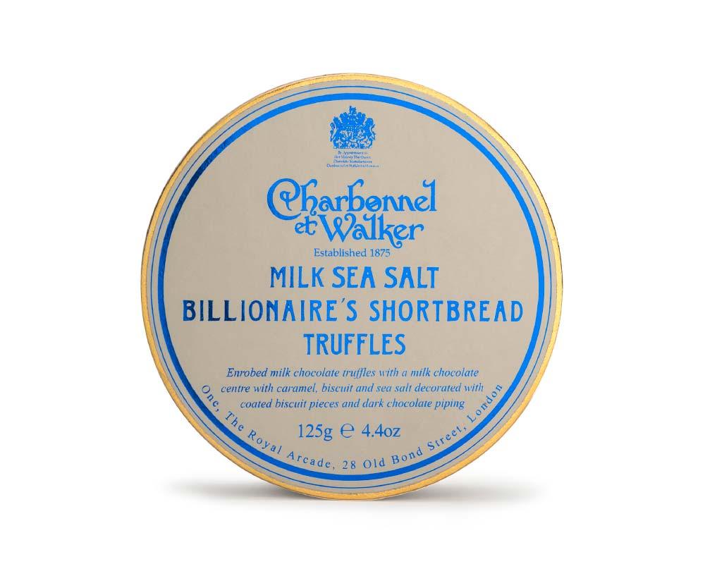 Charbonnel et Walker - Milk Sea Salt Billionaire's Shortbread