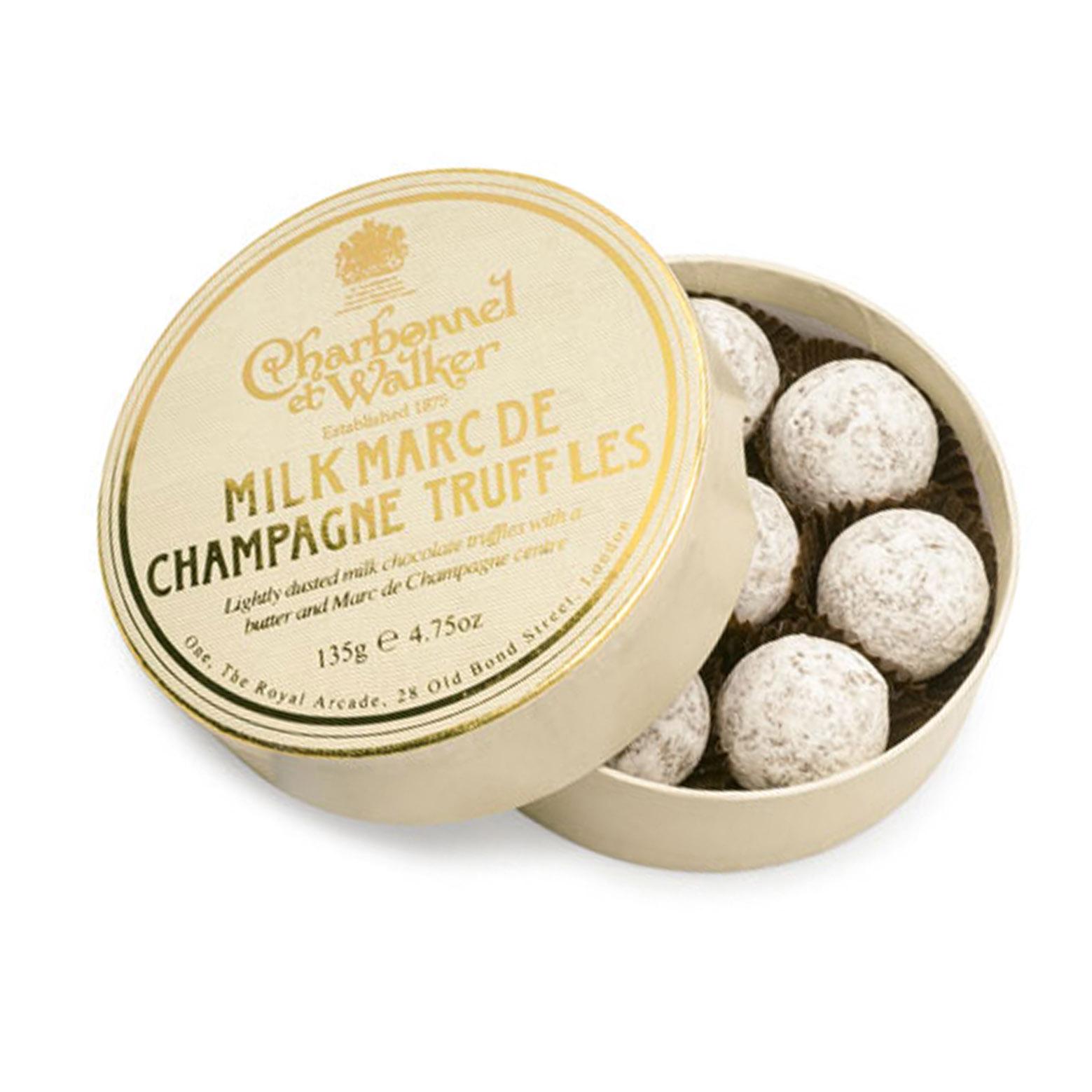 Charbonnel et Walker - Milk Marc de Champagne truffles -