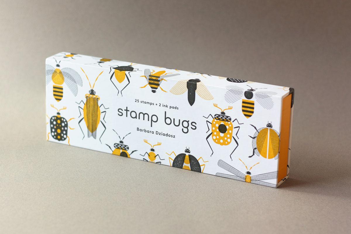 PAPress Stempelsett - Stamp bugs -