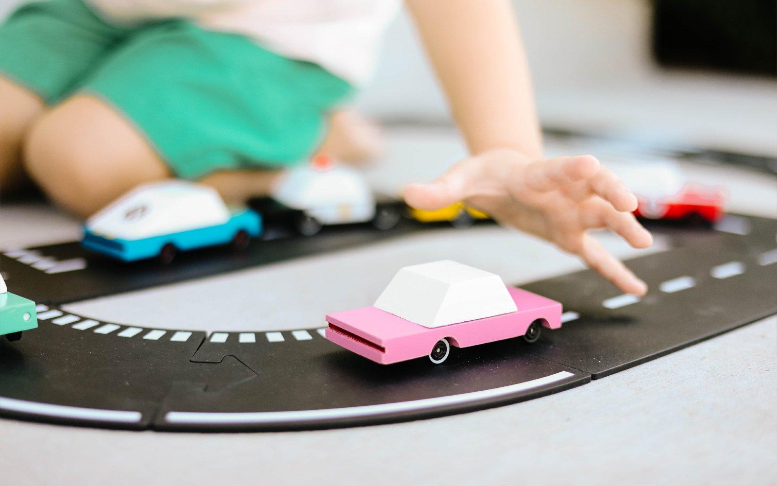 CANDYLAB Candy cars - Pink sedan -