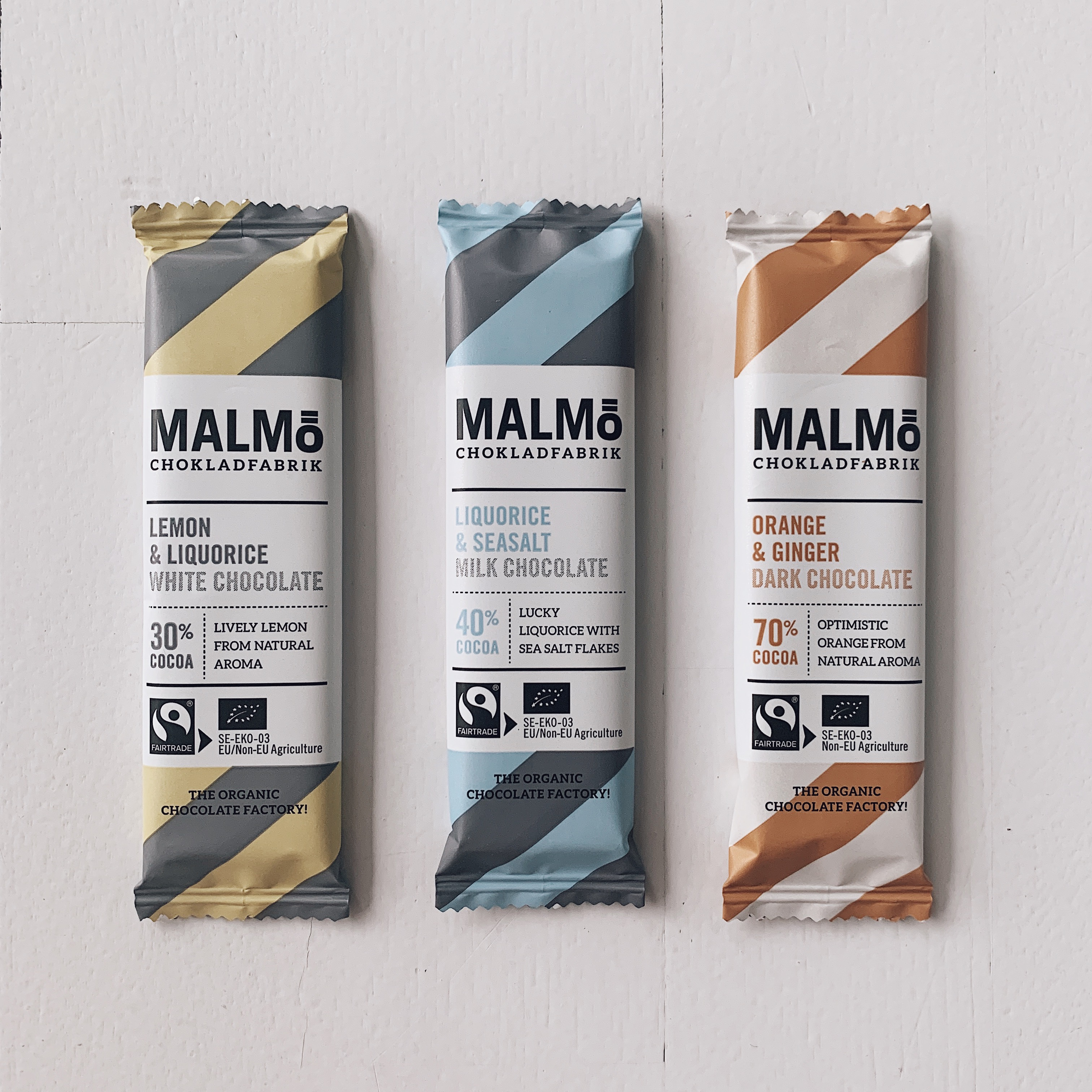 Malmø Chokladfabrik Minibar - 3 smaker -