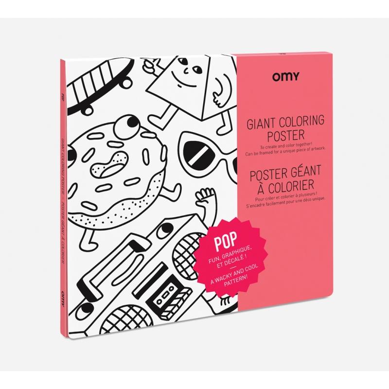 OMY Poster til fargelegging - POP -