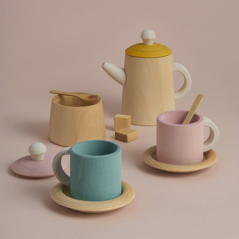 Raduga Grez Tea set - Pastel -