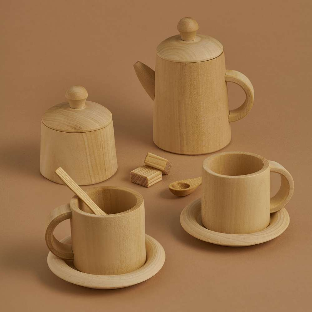 Raduga Grez Tea set -Natural-